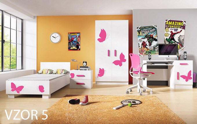 detská izba s motílikmi
