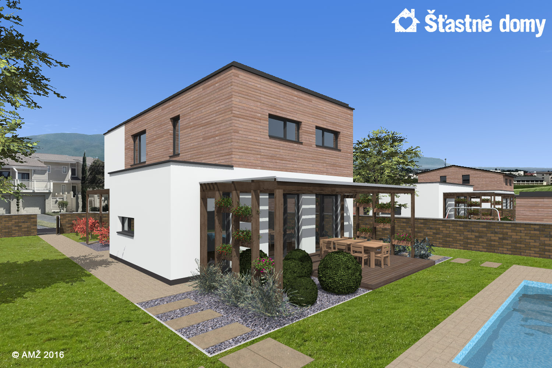 projekt montovaneho rodinneho domu