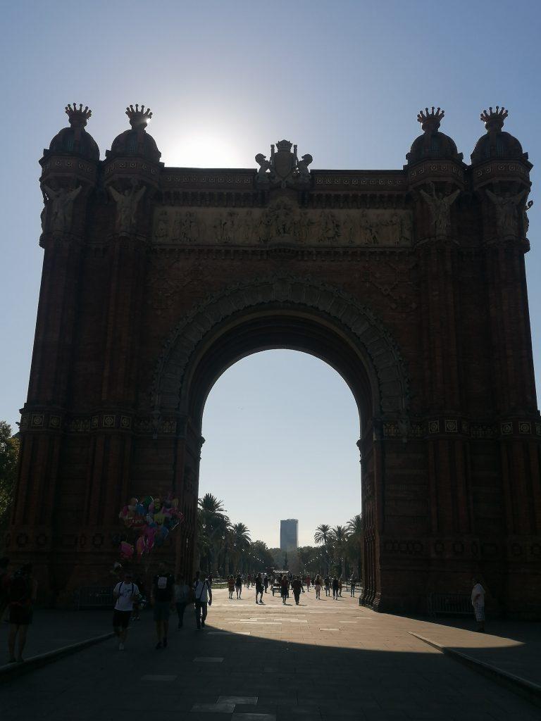 Víťazný oblúk Barcelona