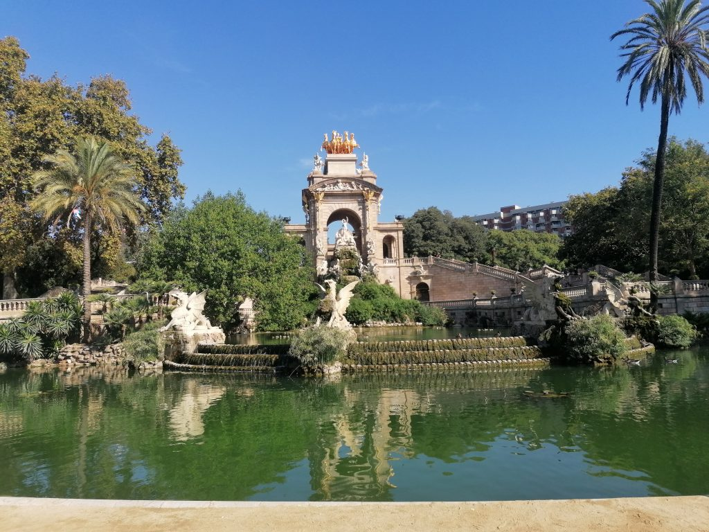 Fontána Barcelona Park